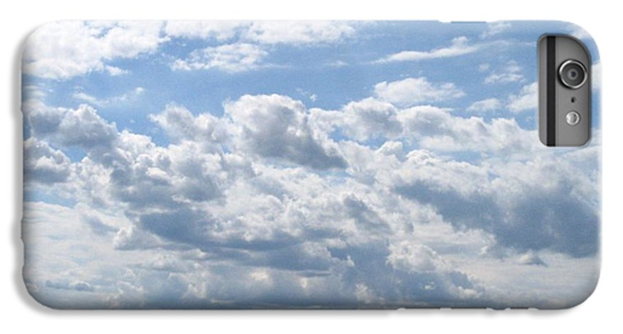 Clouds IPhone 6 Plus Case featuring the photograph Cloudy by Rhonda Barrett