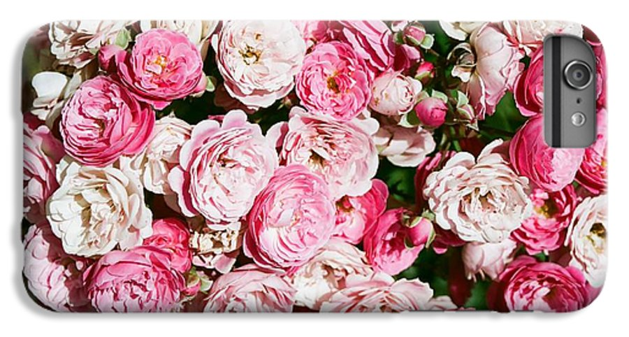 Rose IPhone 6 Plus Case featuring the photograph Cluster Of Roses by Dean Triolo