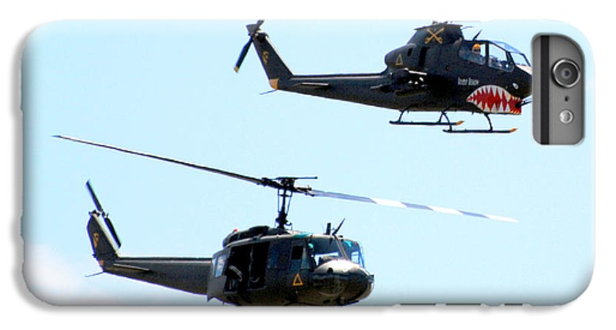 Military IPhone 6 Plus Case featuring the photograph Cobra And Huey by Larry Keahey