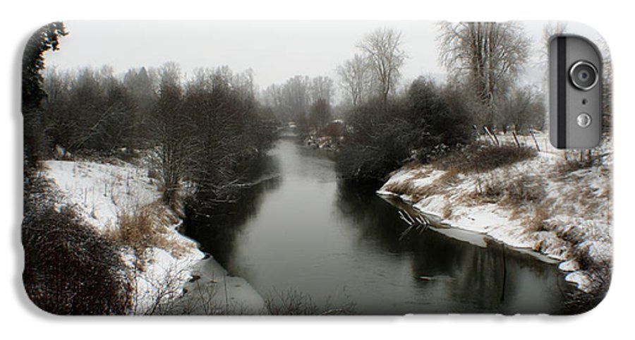 River IPhone 6 Plus Case featuring the photograph Cold River by Idaho Scenic Images Linda Lantzy