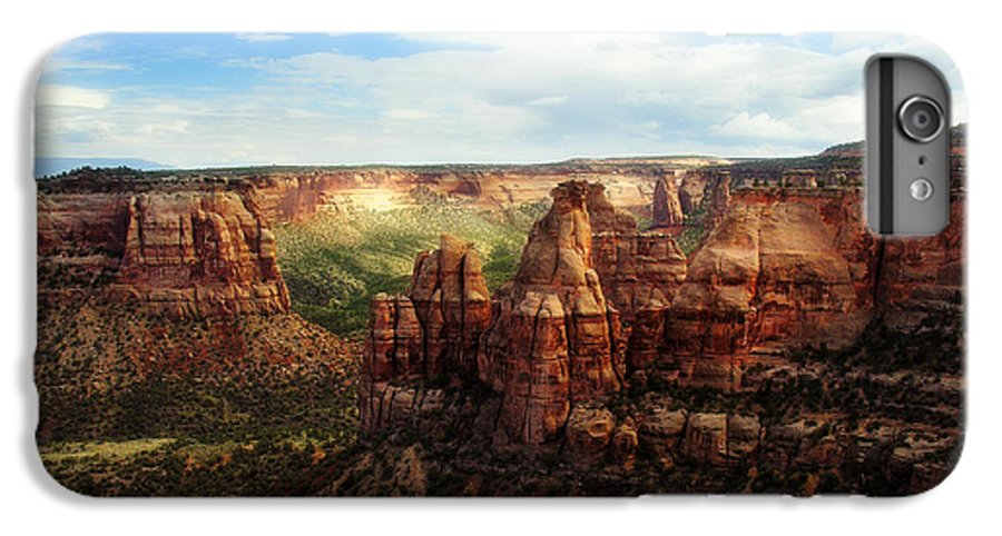 Americana IPhone 6 Plus Case featuring the photograph Colorado National Monument by Marilyn Hunt