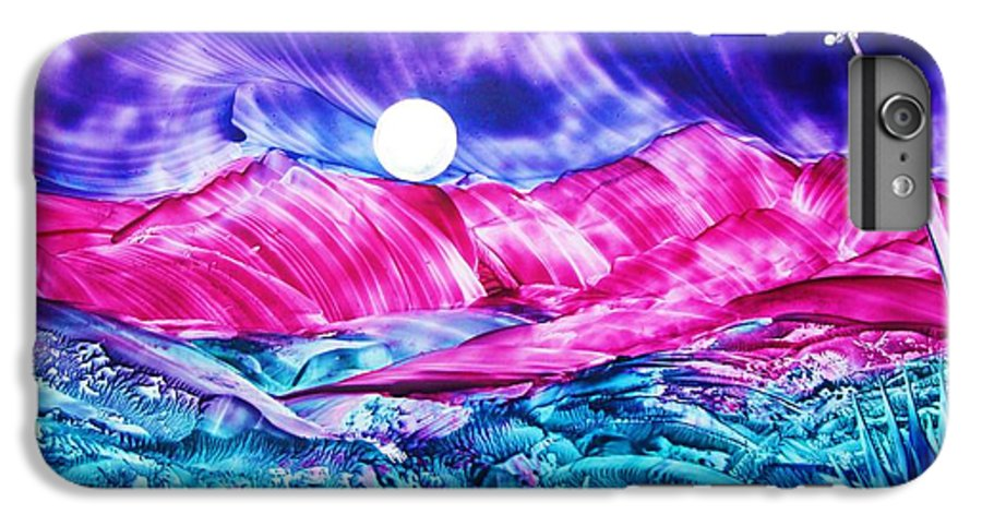 Bold IPhone 6 Plus Case featuring the print Colorful Desert by Melinda Etzold