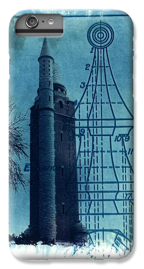 Alternative Process Photography IPhone 6 Plus Case featuring the photograph Compton Blueprint by Jane Linders