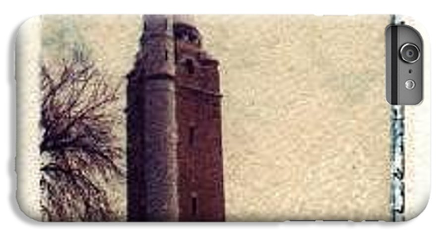 Polaroid Transfer IPhone 6 Plus Case featuring the photograph Compton Water Tower by Jane Linders
