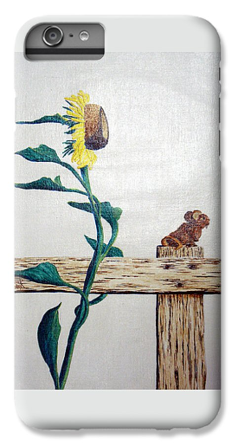 Still Life IPhone 6 Plus Case featuring the painting Confluence by A Robert Malcom