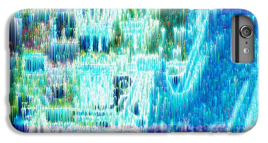 Northern Lights IPhone 6 Plus Case featuring the digital art Crystal City by Seth Weaver