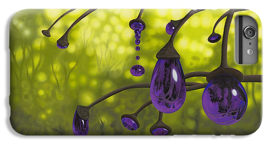 Tree IPhone 6 Plus Case featuring the painting Cyphomandra Vitra by Patricia Van Lubeck