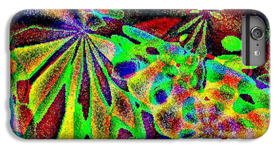 Computer Art IPhone 6 Plus Case featuring the digital art Damselwing by Dave Martsolf