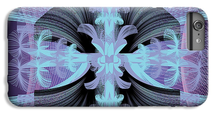 Fantasy IPhone 6 Plus Case featuring the digital art Dandilion Puffs by George Pasini