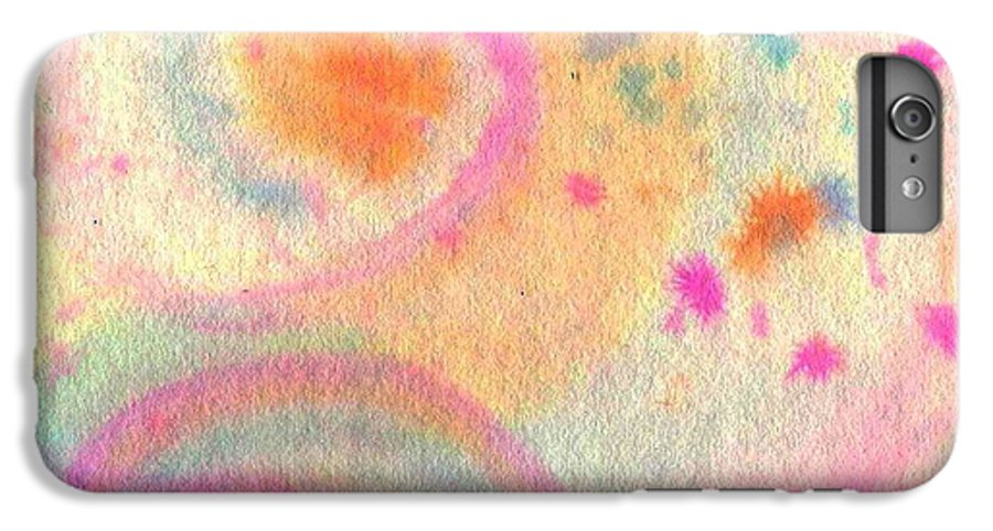 Watercolor IPhone 6 Plus Case featuring the painting Dayscape by Chandelle Hazen