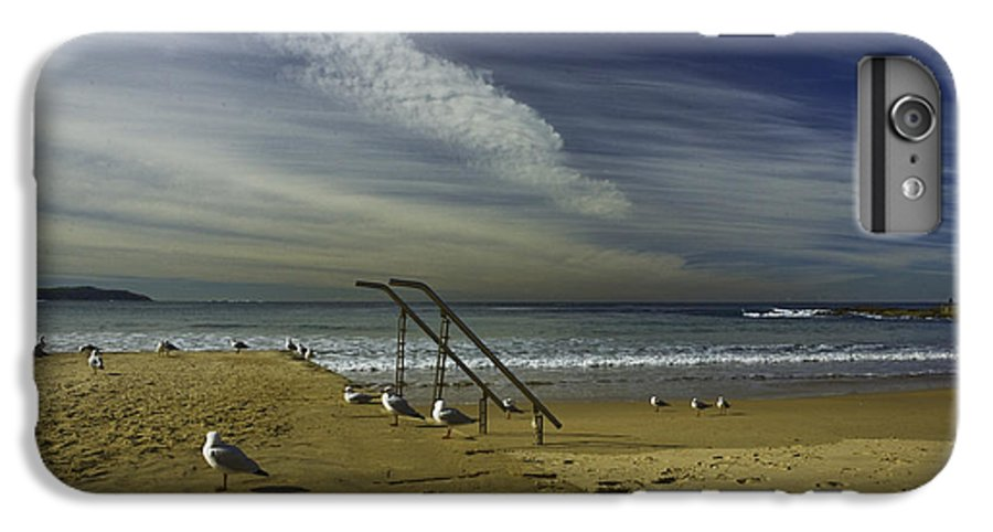 Beach IPhone 6 Plus Case featuring the photograph Dee Why Beach Sydney by Avalon Fine Art Photography