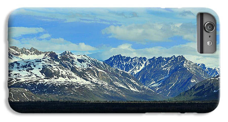 Denali IPhone 6 Plus Case featuring the photograph Denali Valley by Keith Gondron