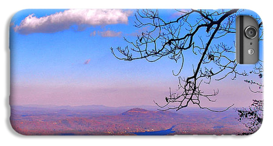 Landscape IPhone 6 Plus Case featuring the photograph Detail From Reaching For A Cloud by Steve Karol