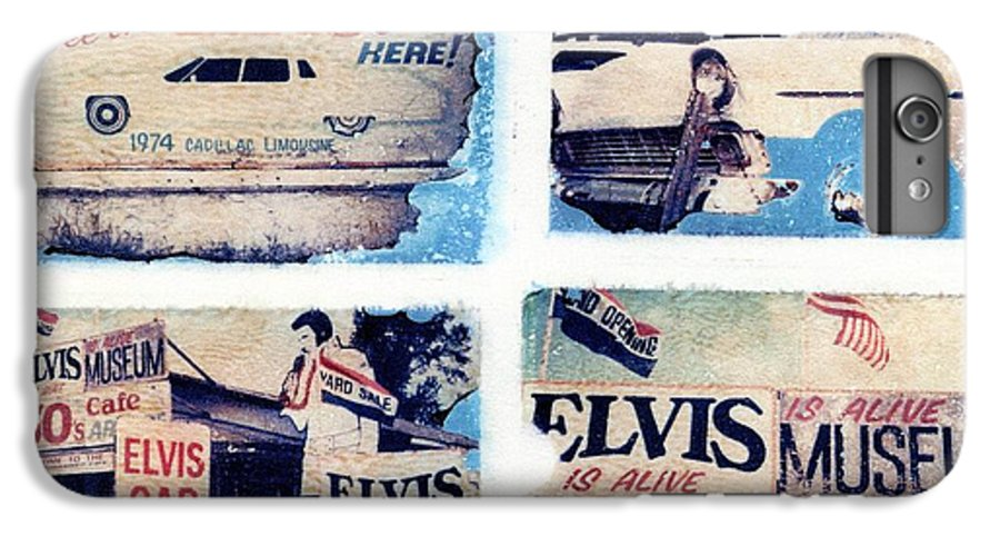 Elvis IPhone 6 Plus Case featuring the photograph Disgraceland by Jane Linders
