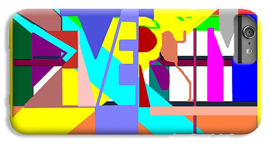 Diversity IPhone 6 Plus Case featuring the digital art Diversity Enmeshed by Pharris Art
