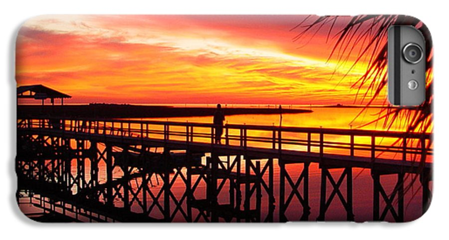 Palms IPhone 6 Plus Case featuring the photograph Docking It by Debbie May