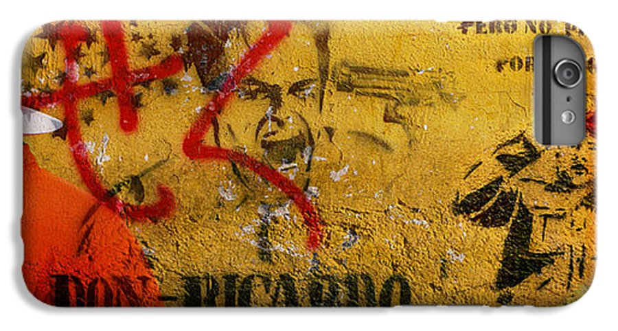 Grafitti IPhone 6 Plus Case featuring the photograph Don-ricardo by Skip Hunt