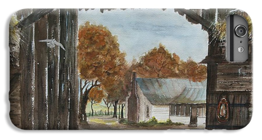 Grandpa And Grandma's Homeplace IPhone 6 Plus Case featuring the painting Down Home by Ben Kiger
