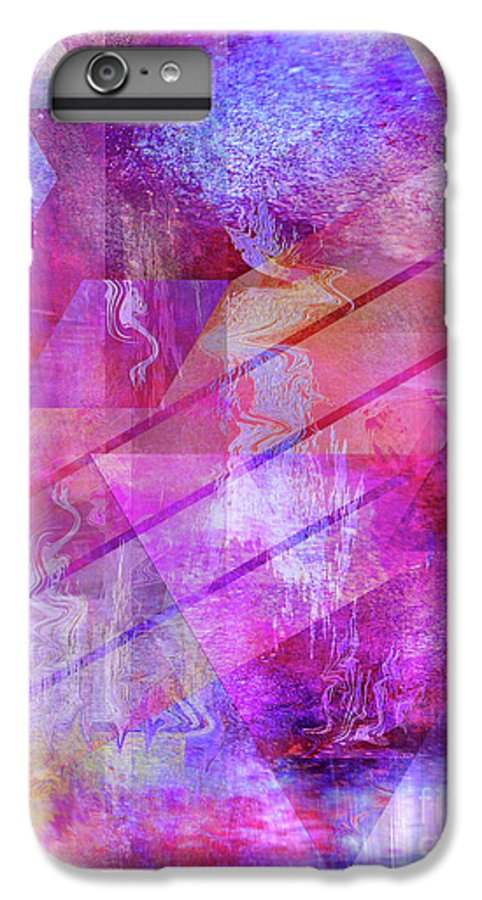 Dragon's Kiss IPhone 6 Plus Case featuring the digital art Dragon's Kiss by John Beck