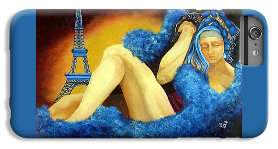 Paris IPhone 6 Plus Case featuring the painting Dreaming Of Paris by Elizabeth Lisy Figueroa