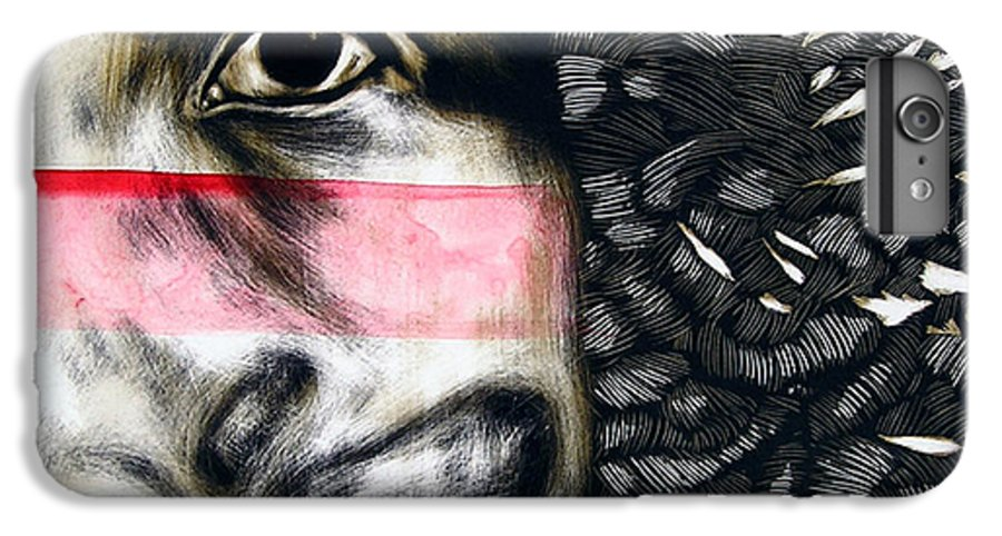IPhone 6 Plus Case featuring the mixed media Dregs Of Summer by Chester Elmore