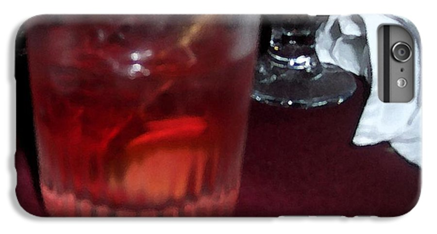 Drinks IPhone 6 Plus Case featuring the photograph Drink Up by Debbi Granruth