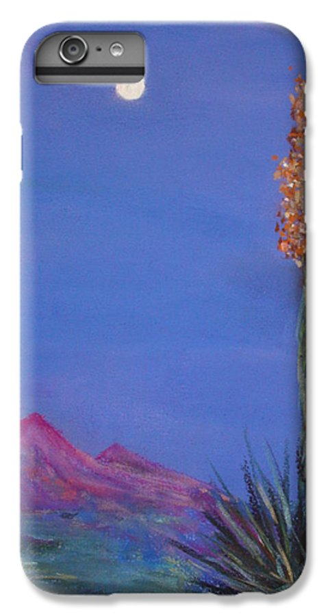Evening IPhone 6 Plus Case featuring the painting Dusk by Melinda Etzold