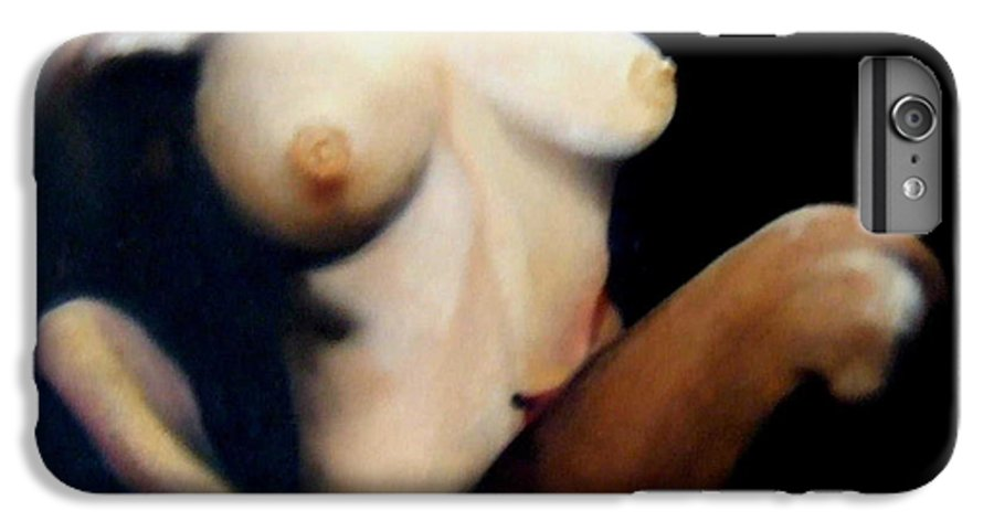 Figurative IPhone 6 Plus Case featuring the painting Ecstasy by Jane Simpson