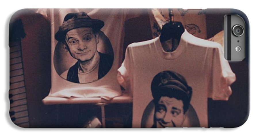 The Honeymooners IPhone 6 Plus Case featuring the photograph Ed And Ralphie Boy by Rob Hans