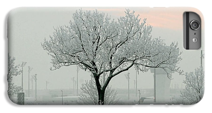 White IPhone 6 Plus Case featuring the photograph Eerie Days by Christine Till