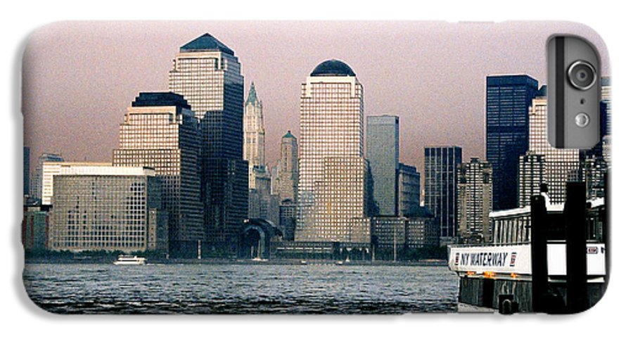 New York IPhone 6 Plus Case featuring the photograph Empty Sky by Steve Karol