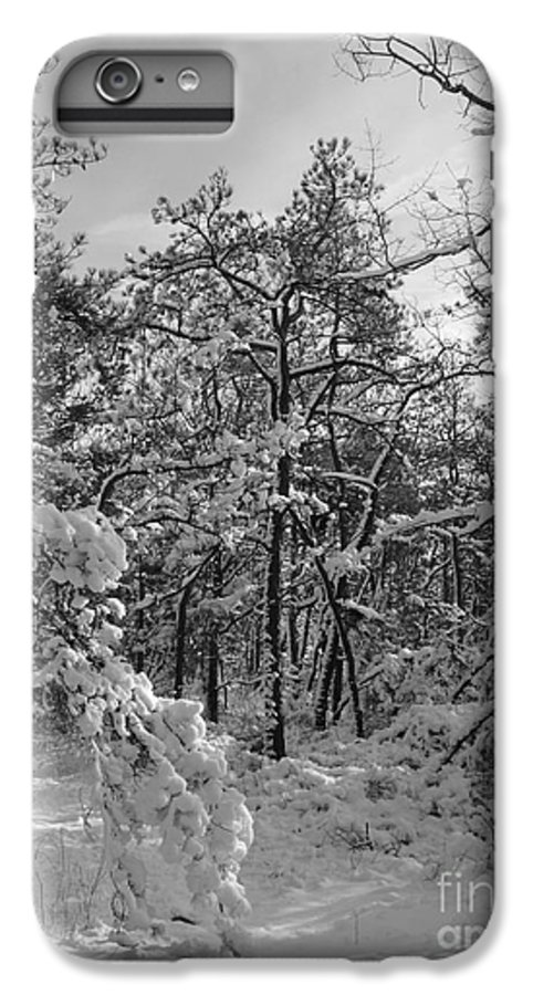 Black And White IPhone 6 Plus Case featuring the photograph Empty Travel by Chad Natti