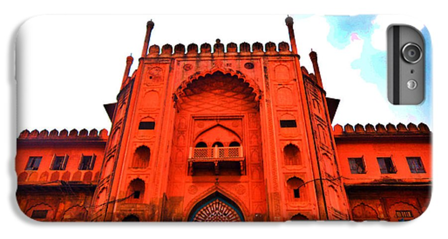 Architecture IPhone 6 Plus Case featuring the photograph #Entrance Gate by Aakash Pandit