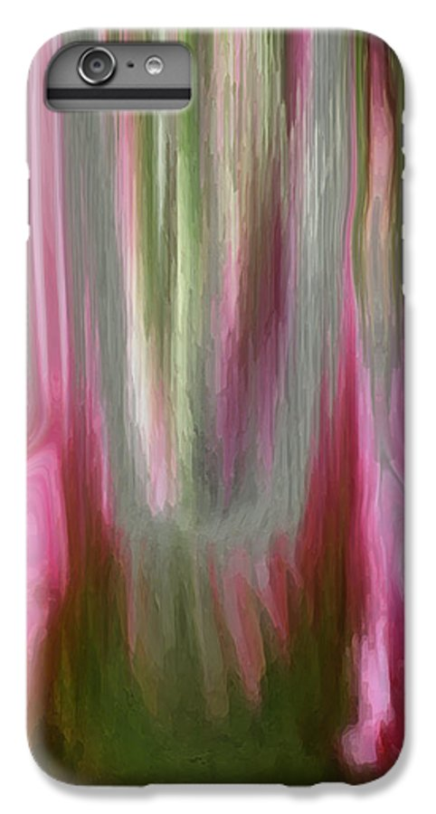 Abstract Art IPhone 6 Plus Case featuring the digital art Entrance by Linda Sannuti