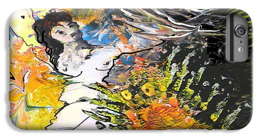Miki IPhone 6 Plus Case featuring the painting Erotype 07 2 by Miki De Goodaboom