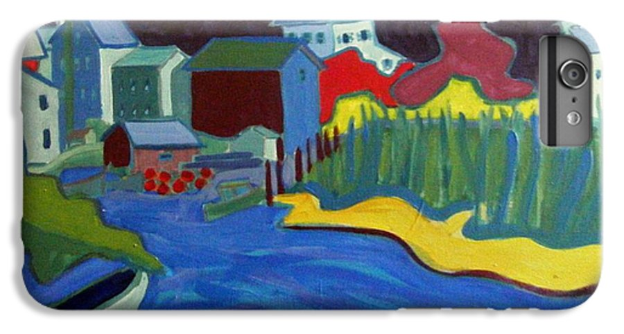 Essex River IPhone 6 Plus Case featuring the painting Essex River by Debra Bretton Robinson