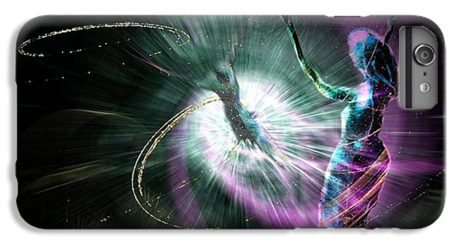 Nature Painting IPhone 6 Plus Case featuring the painting Eternel Feminin 02 by Miki De Goodaboom