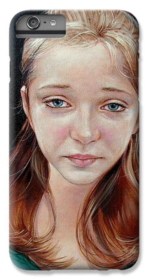 Sadness IPhone 6 Plus Case featuring the painting Experience Of Loss 2004 by Jerrold Carton