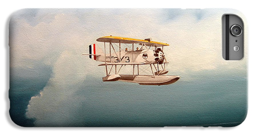 Military IPhone 6 Plus Case featuring the painting Eyes Of The Fleet by Marc Stewart