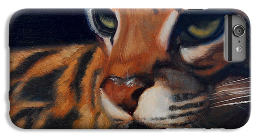 Painting IPhone 6 Plus Case featuring the painting Eyes Wide Open by Greg Neal