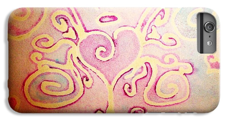 Love IPhone 6 Plus Case featuring the painting Fairylove by Chandelle Hazen