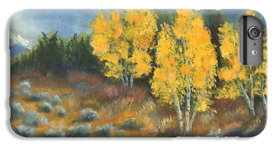 Landscape IPhone 6 Plus Case featuring the painting Fall Delight by Jerry McElroy