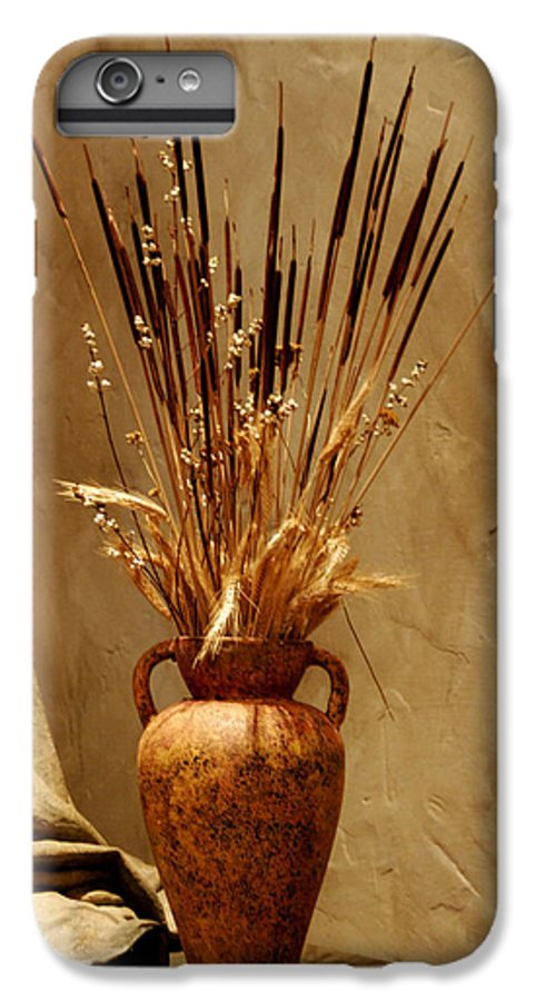 Fall IPhone 6 Plus Case featuring the photograph Fall In A Vase Still-life by Christine Till