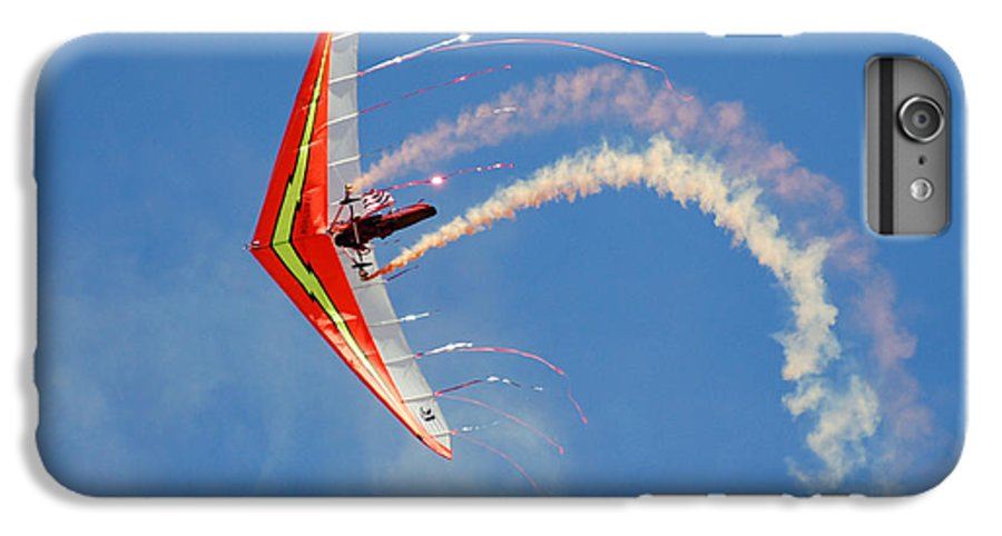 Sky IPhone 6 Plus Case featuring the photograph Fantasy Flight by Larry Keahey