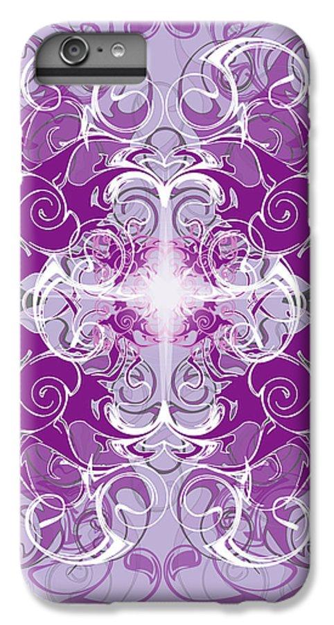 Fantasy IPhone 6 Plus Case featuring the digital art Fantasyvii by George Pasini