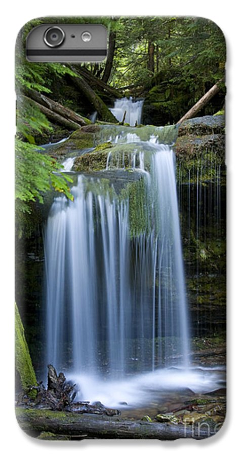 Waterfalls IPhone 6 Plus Case featuring the photograph Fern Falls by Idaho Scenic Images Linda Lantzy