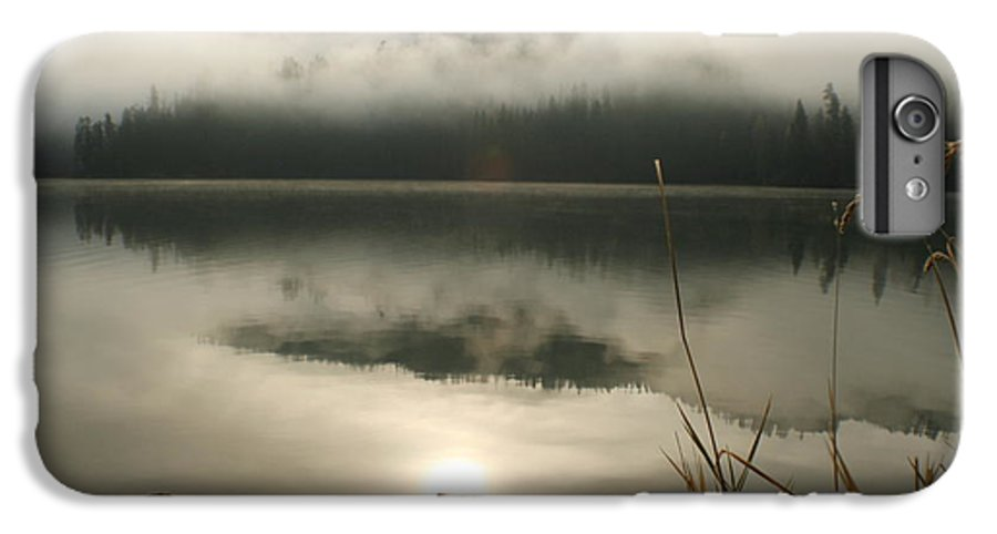Mist IPhone 6 Plus Case featuring the photograph Fernan Fog by Idaho Scenic Images Linda Lantzy