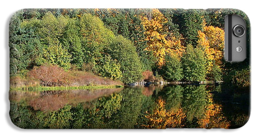 Fall IPhone 6 Plus Case featuring the photograph Final Reflection by Larry Keahey