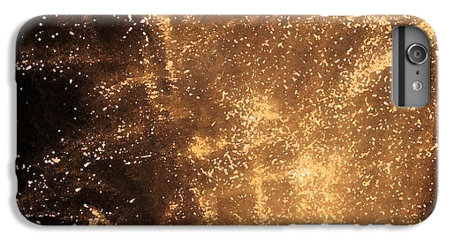 Fireworks IPhone 6 Plus Case featuring the photograph Fired Up by Debbi Granruth