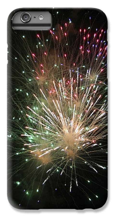 Fireworks IPhone 6 Plus Case featuring the photograph Fireworks by Margie Wildblood